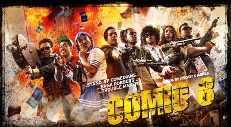 """lifestyle-people.com - Daftar 5 Film Komedi Terbaik """"Comic 8"""""""