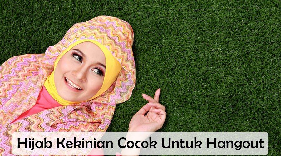 lifestyle-people.com - Hijab Kekinian yang cocok untuk hangout