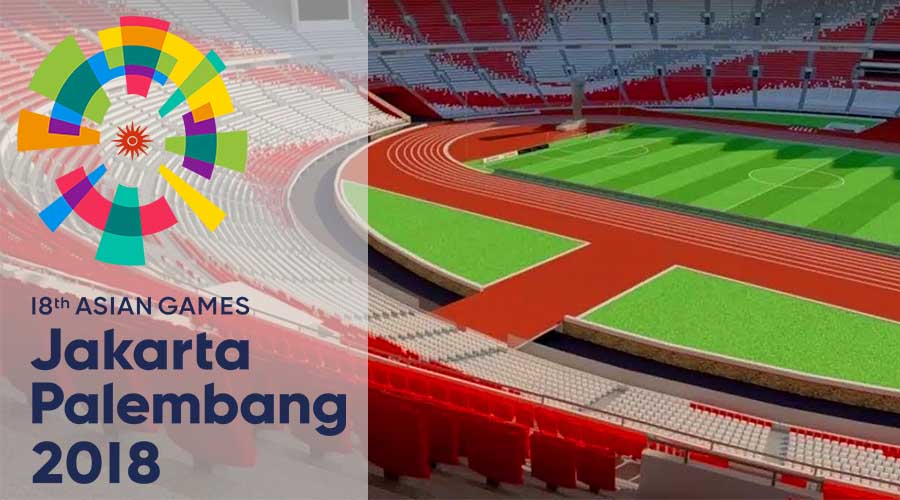 GBK palembang Asian Games 2018